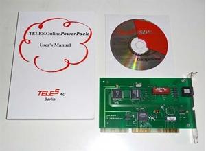 Afbeelding van Teles-ISDN modem kaart